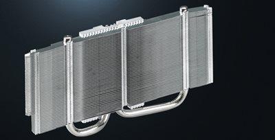 DirectCU-II-Technologie mit Kühlkörpern in direktem Kontakt zur GPU
