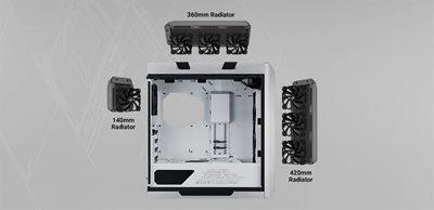Kompatibel mit Kühlsystemen