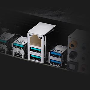 Integriertes 2,5G-Intel-Ethernet