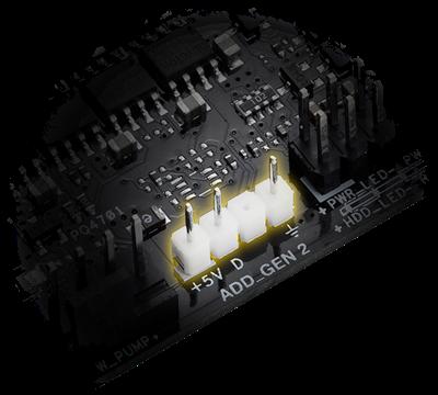 Adressierbarer Gen-2-RGB-Header