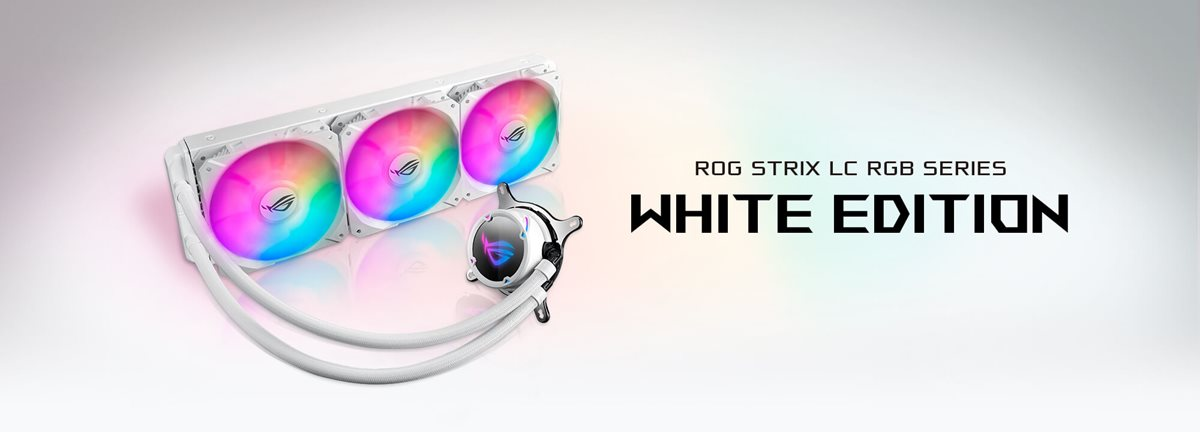 ASUS ROG Strix LC 360 RGB White Edition