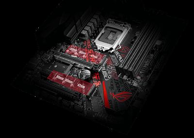 Zwei M.2-Steckplätze mit PCIe 3.0