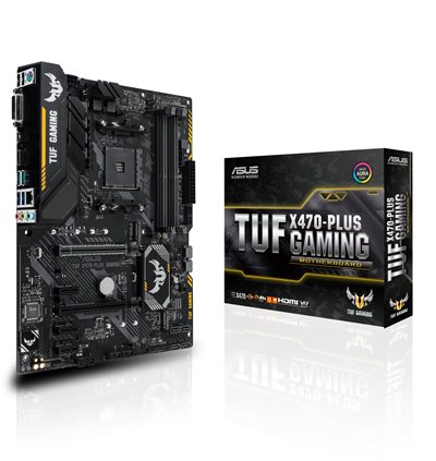 ASUS TUF X470-Plus Gaming Mainboard