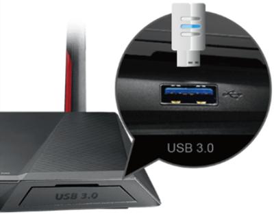 USB 3.0 Anschluss