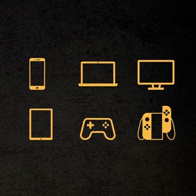Vollständige Kompatibilität mit PC, Mac, PlayStation 4 und Nintendo Switch