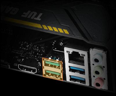 Native Unterstützung von USB 3.1 GEN 2 Typ-A mit 10 Gbit/s