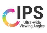 Aktuelle IPS-Technologie mit Betrachtungswinkeln von 178°