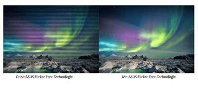 ASUS-Flicker-Free-Technologie