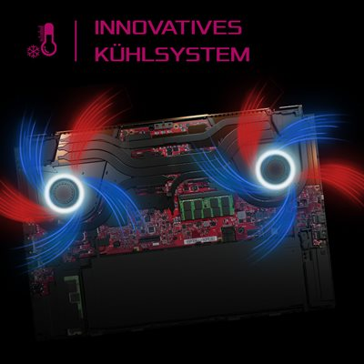 ROG AAS Cooling für maximale Performance