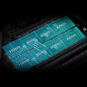Drei PCIe 4.0 M.2