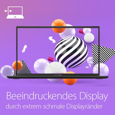 Wunderschönes NanoEdge-Display