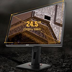 63,5cm (24,5 Zoll) IPS-Display für hohe Betrachtungswinkel und eine bessere Farbwiedergabe