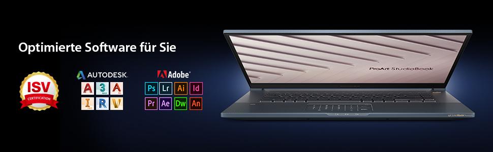 ProArt StudioBook Pro 17