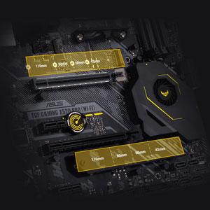 Zwei M.2-Steckplätze mit PCIe 4.0