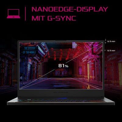 "Blitzschnelles 17,3"" NanoEdge-Display mit G-SYNC"