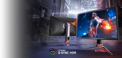NVIDIA®-G−SYNC®-Technologie