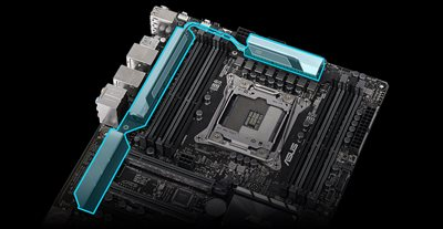 Extrem effizienter VRM-Kühlkörper