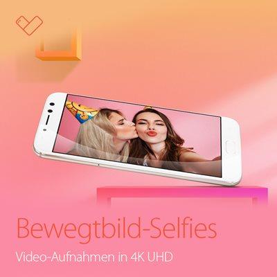 Selfie-Videos in einer Qualität, die mehr als bewegt