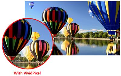 Die ASUS VC-Serie - IPS-Bildschirm mit integrierter VividPixel-Technologie