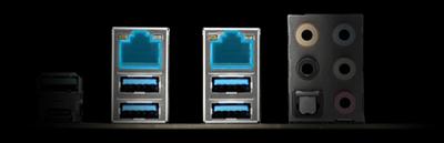 Duales Intel®-Gigabit-LAN auf Serverniveau
