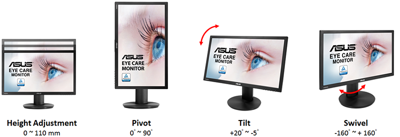 ASUS VP229HAL Eye-Care Monitor