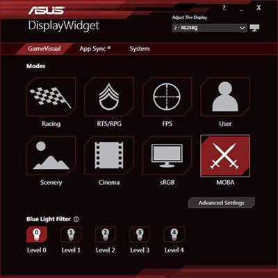 Exklusive Asus Displaywidget-Software