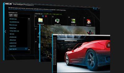 Spezielle Anwendungsoptimierung für professionelle Nutzer und Gamer
