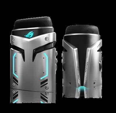 ROG Strix Magnus USB Gaming-Kondensator-Mikrofon mit AURA RGB-Beleuchtung und Umgebungsgeräuschunterdrückung (ENC) für Gaming / Streaming