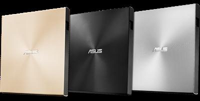 Ultraschlanker, externer DVD-Brenner mit USB-Typ-C-Unterstützung und Typ-A-Schnittstellen