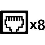 Netzwerk mit bis zu 4Gbit/s mit Linkaggregation