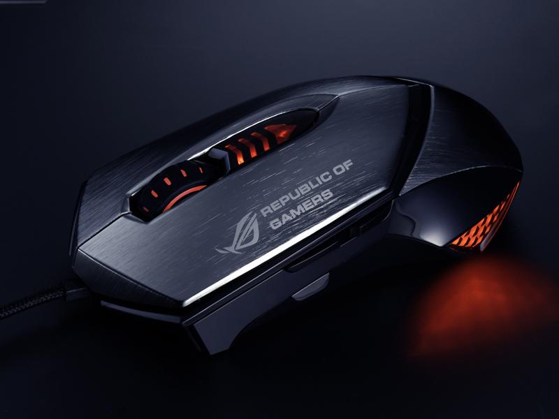 ASUS GX1000 Eagle Eye Maus
