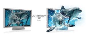 2D-zu-3D DVD-Umwandlung