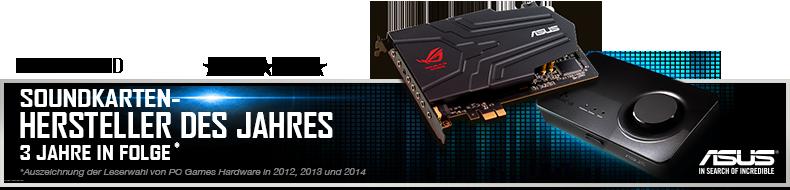 ASUS Xonar U7 MKII 7.1 USB-Soundkarte