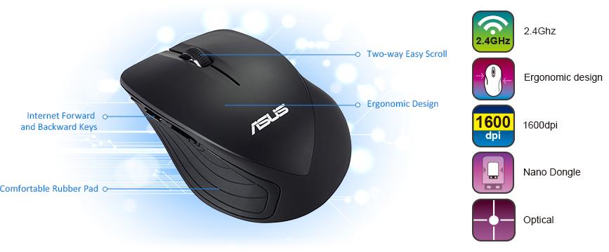 ASUS WT465 Maus