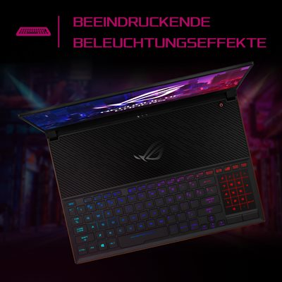 Präzises Aura Gaming-Keyboard