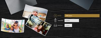 Speichern Sie Ihre wertvollen Fotos, Videos und Daten für die nächsten Generationen