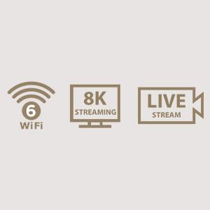 Echtes 8K-Streaming