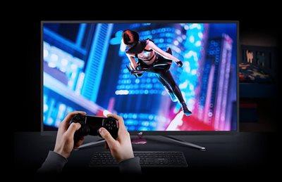 Gamefast-Eingabetechnologie