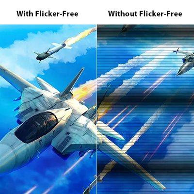 Flicker-Free Technologie