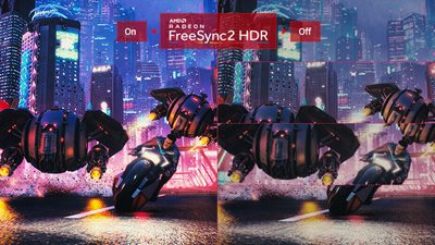 Radeon Freesync 2 HDR für flüssiges Gameplay