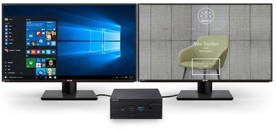 Beeindruckende 4K-UHD-Auflösung und Unterstützung für zwei Bildschirme