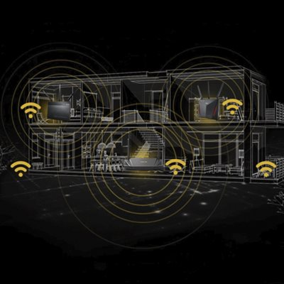 Ein leistungsstarkes WLAN-System für das ganze Haus